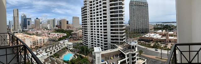Panoramic View of San Diego