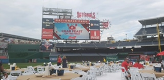 Nationals Feast On The Field