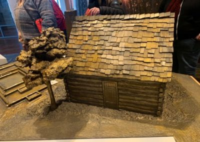 Different view of slave quarter model