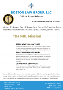 African American Birth Injury Attorney Marcus Boston